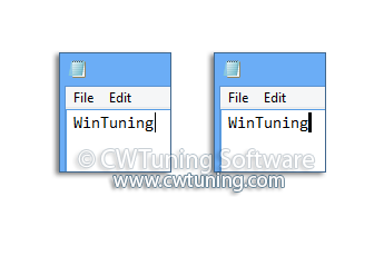 Change your caret size - WinTuning Utilities: Optimize, boost, maintain and recovery Windows 7, 10, 8 - All-in-One Utility