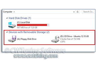 WinTuning: Tweak and Optimize Windows 7, 10, 8 - Removable Disks: Deny read access