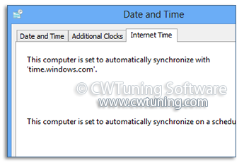 Disable Windows Time Service - WinTuning Utilities: Optimize, boost, maintain and recovery Windows 7, 10, 8 - All-in-One Utility