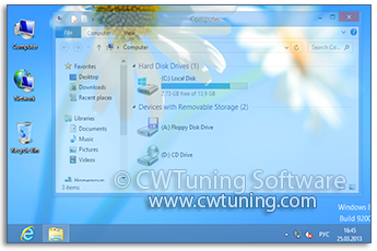 Disable window animation - WinTuning Utilities: Optimize, boost, maintain and recovery Windows 7, 10, 8 - All-in-One Utility