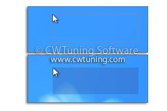 WinTuning: Tweak and Optimize Windows 7, 10, 8 - Highlight selection rectangle in color when selecting