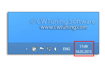 WinTuning: Tweak and Optimize Windows 7, 10, 8 - Remove clock from the system notification area