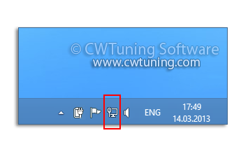 Remove the networking icon - WinTuning Utilities: Optimize, boost, maintain and recovery Windows 7, 10, 8 - All-in-One Utility