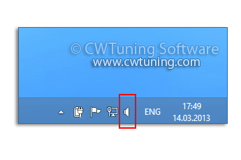 Remove the volume control - WinTuning Utilities: Optimize, boost, maintain and recovery Windows 7, 10, 8 - All-in-One Utility