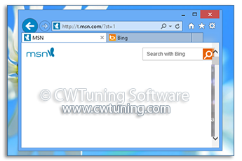 Show tabs below address bar - WinTuning Utilities: Optimize, boost, maintain and recovery Windows 7, 10, 8 - All-in-One Utility