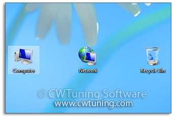 WinTuning: Tweak and Optimize Windows 7, 10, 8 - Hide «Computer» icon on the desktop