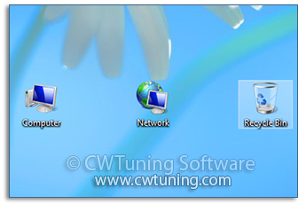 WinTuning: Tweak and Optimize Windows 7, 10, 8 - Hide «Recycle Bin» icon from desktop