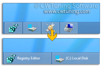 WinTuning: Tweak and Optimize Windows 7, 10, 8 - Prevent grouping of taskbar items