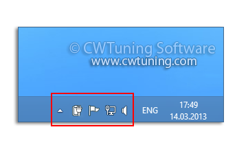 Hide the notification area - WinTuning Utilities: Optimize, boost, maintain and recovery Windows 7, 10, 8 - All-in-One Utility