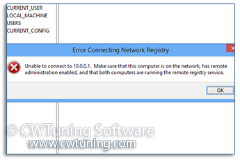 WinTuning: Tweak and Optimize Windows 7, 10, 8 - Disable network access to the registry