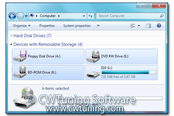 All Removable Storage classes: Deny all access - This tweak fits for Windows 7