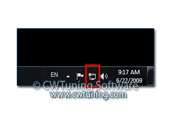 Remove the networking icon - This tweak fits for Windows 7