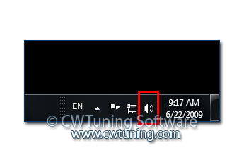 Remove the volume control - This tweak fits for Windows 7