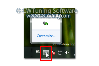 Turn off notification area cleanup - This tweak fits for Windows 7