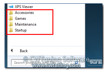 Remove user's folders - This tweak fits for Windows 7