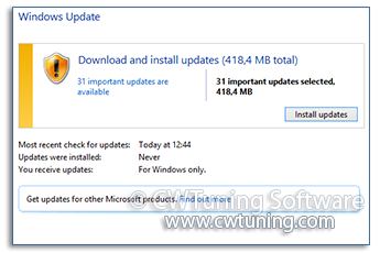 Change the updates detection frequency - This tweak fits for Windows 8