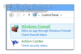 Disable Windows Firewall - This tweak fits for Windows 8