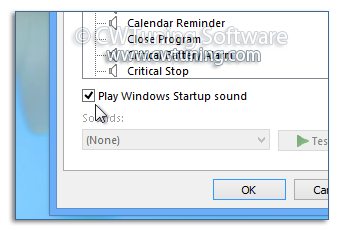 Turn off Windows Startup Sound - This tweak fits for Windows 8