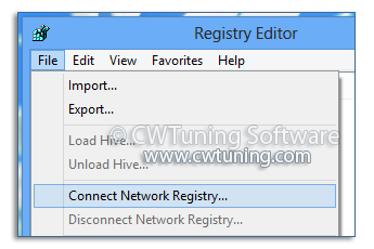 Enable Remote Registry - This tweak fits for Windows 8