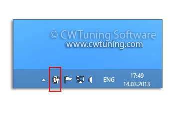 Remove the battery meter - This tweak fits for Windows 8