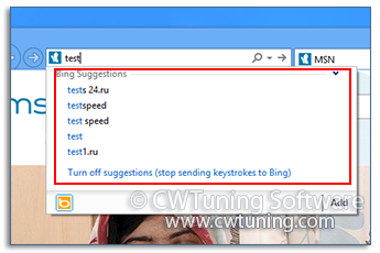 Enable search in address bar - This tweak fits for Windows 8