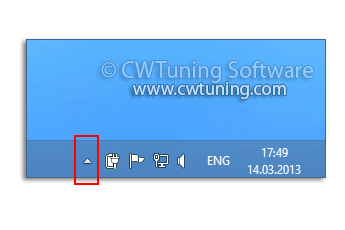 Turn off notification area cleanup - This tweak fits for Windows 8