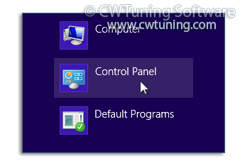 Remove «Control Panel» item - This tweak fits for Windows 8