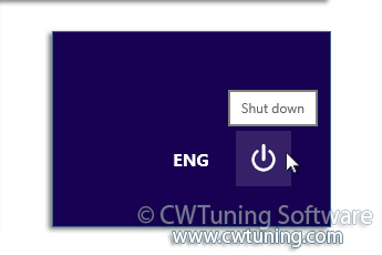 Disable shutdown button - This tweak fits for Windows 8