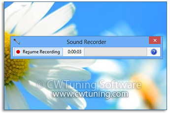 Disable the Sound Recorder - This tweak fits for Windows 8