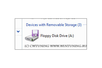 Floppy Drives: Deny read access - This tweak fits for Windows Vista