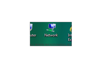 Hide «Network» icon on desktop - This tweak fits for Windows Vista