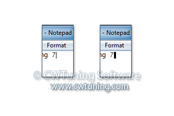 WinTuning 7: Optimize, boost, maintain and recovery Windows 7 - All-in-One Utility - Change your caret size