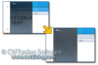 WinTuning 7: Optimize, boost, maintain and recovery Windows 7 - All-in-One Utility - Disable transparent glass