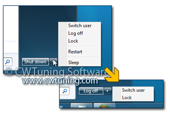 WinTuning 7: Optimize, boost, maintain and recovery Windows 7 - All-in-One Utility - Remove and prevent access to the Shut Down etc.