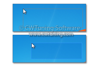 WinTuning 7: Optimize, boost, maintain and recovery Windows 7 - All-in-One Utility - Highlight selection rectangle in color when selecting