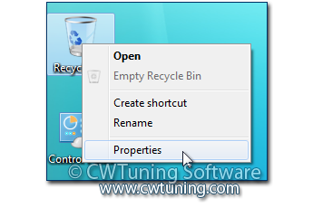 WinTuning 7: Optimize, boost, maintain and recovery Windows 7 - All-in-One Utility - «Recycle Bin» icon