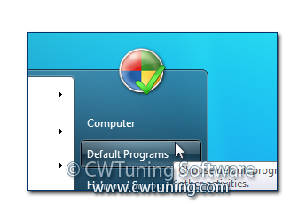 WinTuning 7: Optimize, boost, maintain and recovery Windows 7 - All-in-One Utility - Remove «Default Programs» item