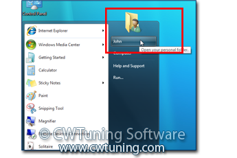 WinTuning 7: Optimize, boost, maintain and recovery Windows 7 - All-in-One Utility - Remove user folder item