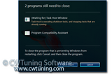 WinTuning 7: Optimize, boost, maintain and recovery Windows 7 - All-in-One Utility - Turn off automatic termination of applications