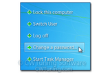WinTuning 7: Optimize, boost, maintain and recovery Windows 7 - All-in-One Utility - Remove «Change a password» item