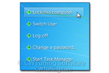 WinTuning 7: Optimize, boost, maintain and recovery Windows 7 - All-in-One Utility - Remove «Lock this Computer» item