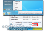 WinTuning 7: Optimize, boost, maintain and recovery Windows 7 - All-in-One Utility - Disable hibernation