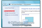 WinTuning 7: Optimize, boost, maintain and recovery Windows 7 - All-in-One Utility - Hide «Change desktop icons» link