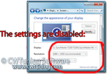 WinTuning 7: Optimize, boost, maintain and recovery Windows 7 - All-in-One Utility - Disable Display personalization