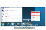 WinTuning 7: Optimize, boost, maintain and recovery Windows 7 - All-in-One Utility - Disable «Log off» item