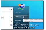 WinTuning 8: Optimize, boost, maintain and recovery Windows 8 - All-in-One Utility - Remove «Connect To» item